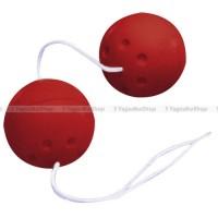 Шарики массажные (пластик ) красные 80092